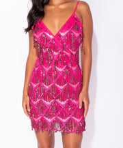 The Sequin Mini Dress