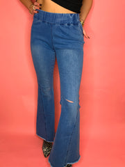 Bell Bottom Babe Denim
