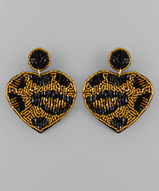 In Love Leopard Earrings