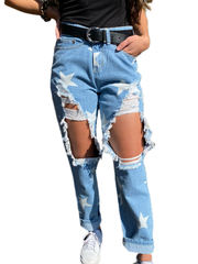Star Gazed Boyfriend Jeans