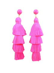 Lala Layered Tassel Earrings