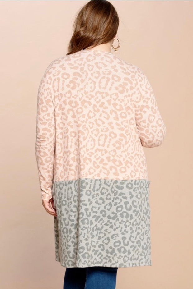 The Oddi Leopard Cardigan