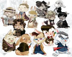 All the bunnies