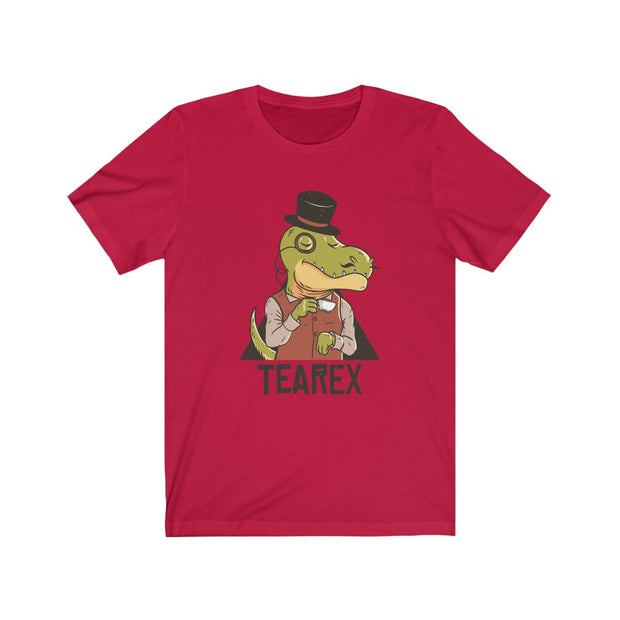TeaRex- Dinosaur Men's T-shirt - We Heart Dinos