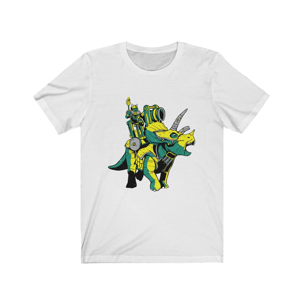 Triceratops Army- Men's dinosaur t-shirt - We Heart Dinos
