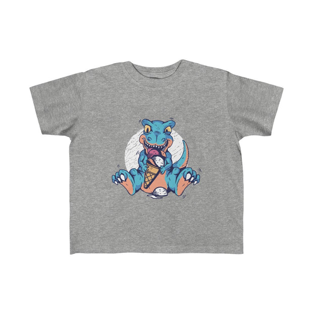 Ice Cream Social- Toddler Fine Jersey Tee - We Heart Dinos