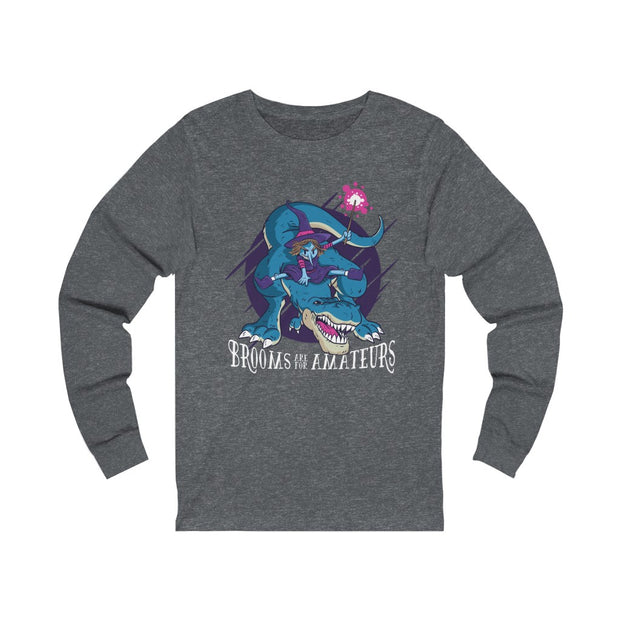 Broom X Dinosaur- Dinosaur Women's T-Shirt - We Heart Dinos