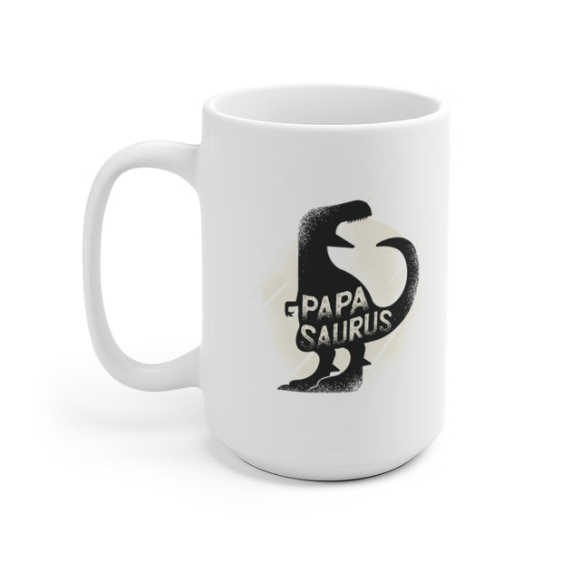 Papasaurus - Dinosaur Mug - We Heart Dinos
