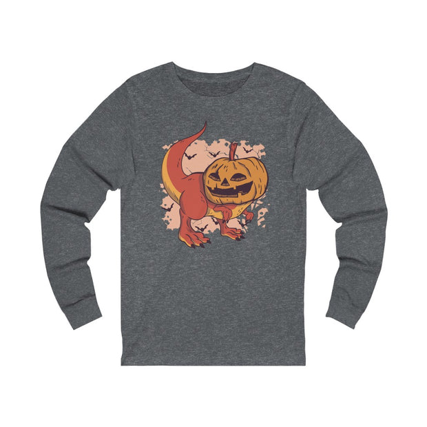 Pumpkin Head- Dinosaur T-Shirt - We Heart Dinos