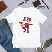 Patriotic T-Rex - We Heart Dinos