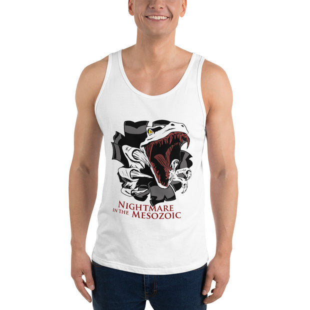Nightmare in the Mesozoic - Unisex Tank top - WeHeartDinos