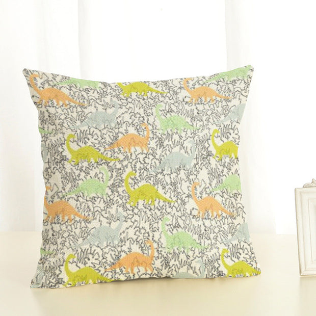 Dinosaur Cushion Pillowcase - WeHeartDinos