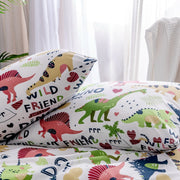 Luxury Cartoon Dinosaur Bedding Sets - We Heart Dinos