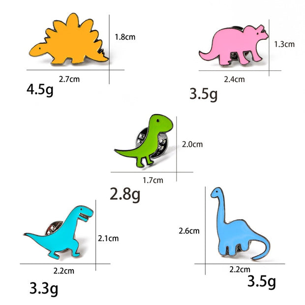 Cartoon Colorful Dinosaur - We Heart Dinos