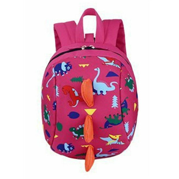 Toddler Dinosaur Backpack with Optional Safety Walking Harness (Various Colors) - WeHeartDinos
