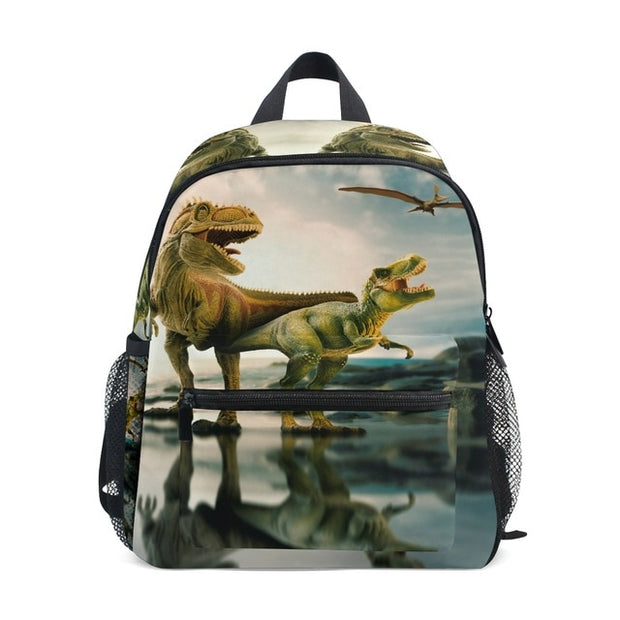 Children's Dinosaur Backpack (Various Colors and Prints) - WeHeartDinos