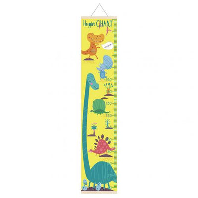 Dinosaur- Growth / Height Chart -Wall Decor (Metric) - WeHeartDinos