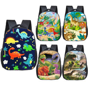 Toddler Cartoon Dinosaur Backpack (Various Colors and Prints) - WeHeartDinos