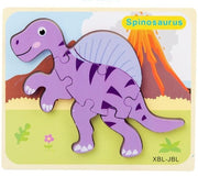 Wooden Jigsaw Puzzle Toys - WeHeartDinos