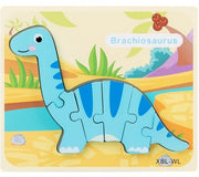 Wooden Jigsaw Puzzle Toys - We Heart Dinos