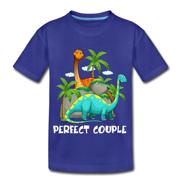 Perfect Couple- Dinosaur Kids' T-Shirt - We Heart Dinos