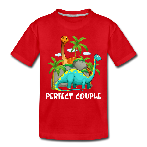 Perfect Couple- Dinosaur Toddler T-Shirt - WeHeartDinos