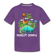 Perfect Couple- Dinosaur Toddler T-Shirt - We Heart Dinos