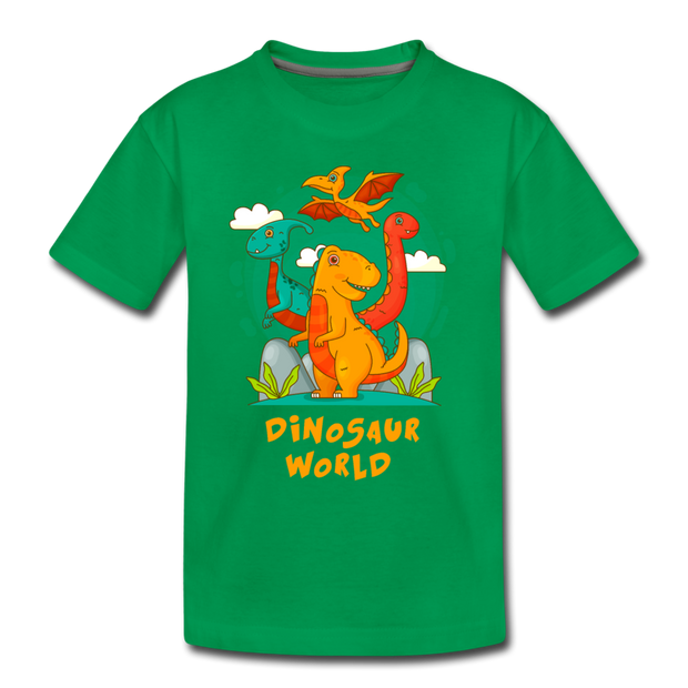 Dinosaur World- Toddler T-Shirt - WeHeartDinos