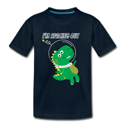 I'm Spacing Out- Kids' T-Shirt - WeHeartDinos