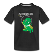 I'm Spacing Out- Dinosaur Toddler T-Shirt - WeHeartDinos
