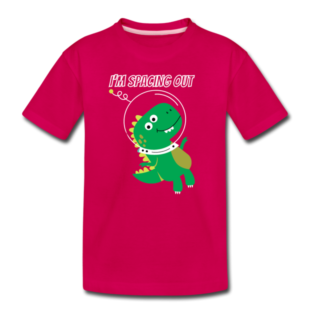 I'm Spacing Out- Dinosaur Toddler T-Shirt - We Heart Dinos