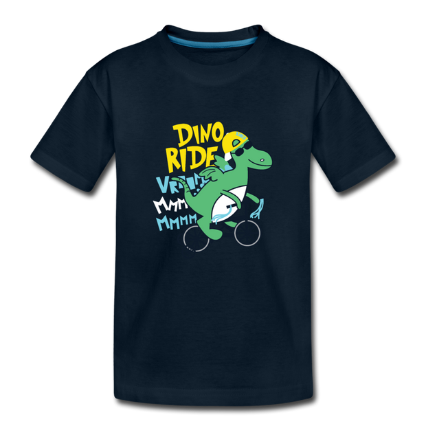 Ride Dino- Dinosaur Toddler T-Shirt - WeHeartDinos