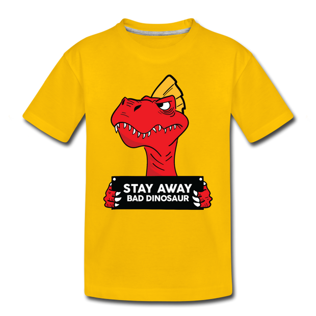 Stay Away- Dinosaur Toddler T-Shirt - We Heart Dinos