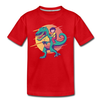 T Rex Gamer- Toddler T-Shirt - We Heart Dinos