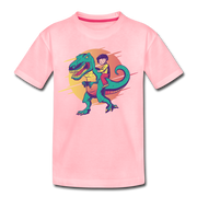 Gamer Dino- Kids' T-Shirt - We Heart Dinos