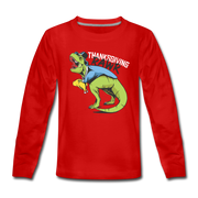 T-Rex Thanksgiving- Kids' T-Shirt - We Heart Dinos