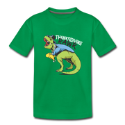 T-Rex Thanksgiving- Toddler T-Shirt - We Heart Dinos
