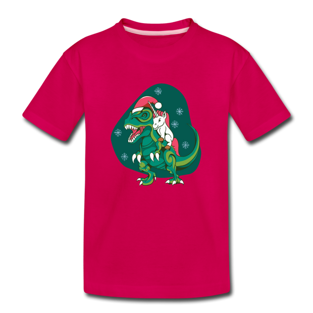 Save a Reindeer- Kids' T-Shirt - We Heart Dinos