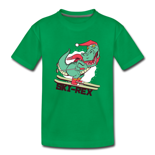 Ski-Rex- Toddler T-Shirt - We Heart Dinos
