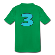 RAWR I'm 3...- Birthday T-Shirt - kelly green