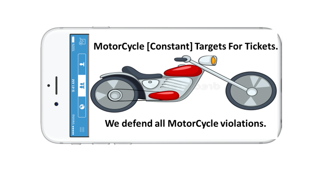 MOTORCYCLE SPEEDING TICKET MAGNETS