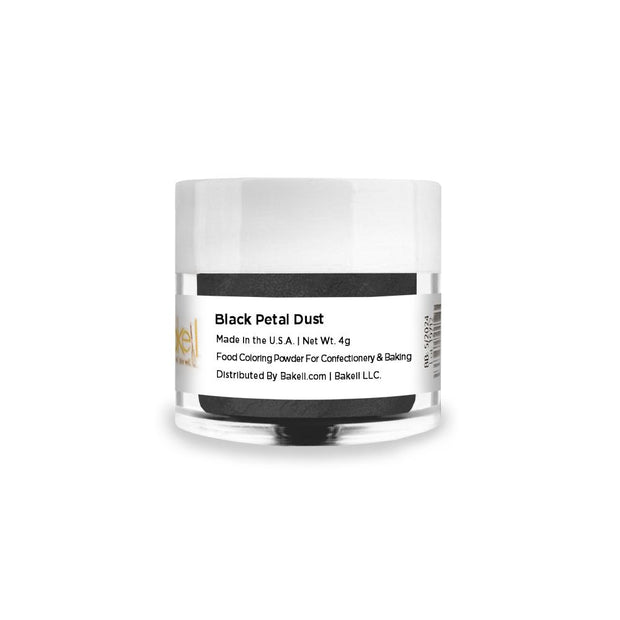 Black Petal Dust Food Coloring Powder