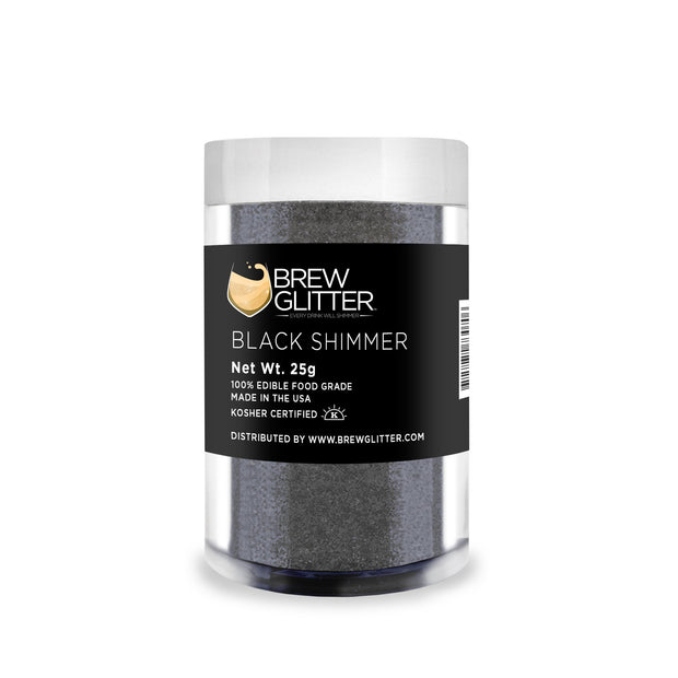 Black Shimmer Brew Glitter | Coffee & Latte Glitter