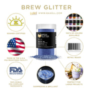 Blue Brew Glitter | Edible Glitter for Sports Drinks & Energy Drinks