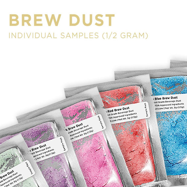Brew Dust Individual Sample Packs (1/2 Gram)