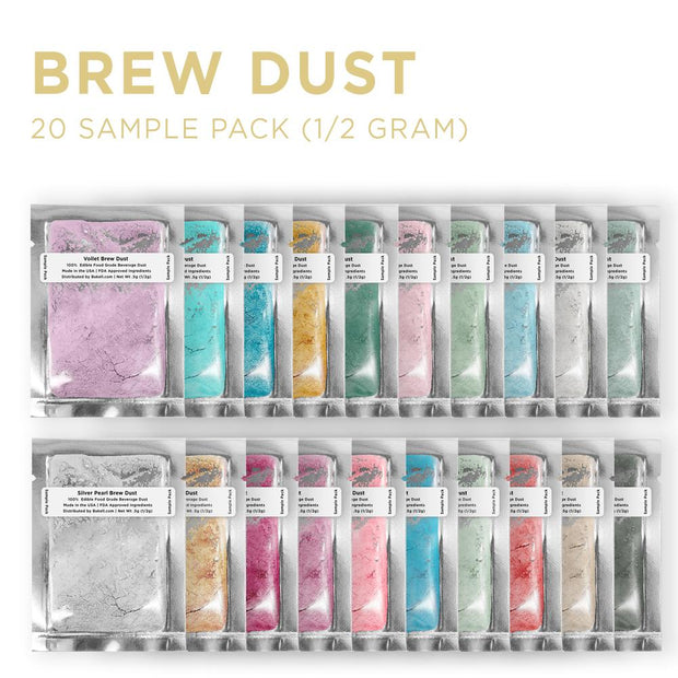 Brew Dust Sample Pack Set (20 Random Colors)