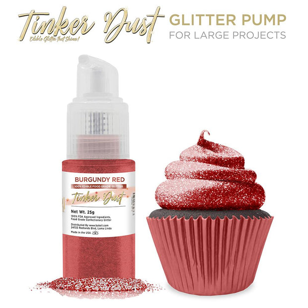 Burgundy Red Tinker Dust Spray Pump by the Case