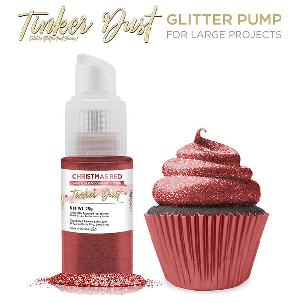 Christmas Red Tinker Dust Spray Pump by the Case