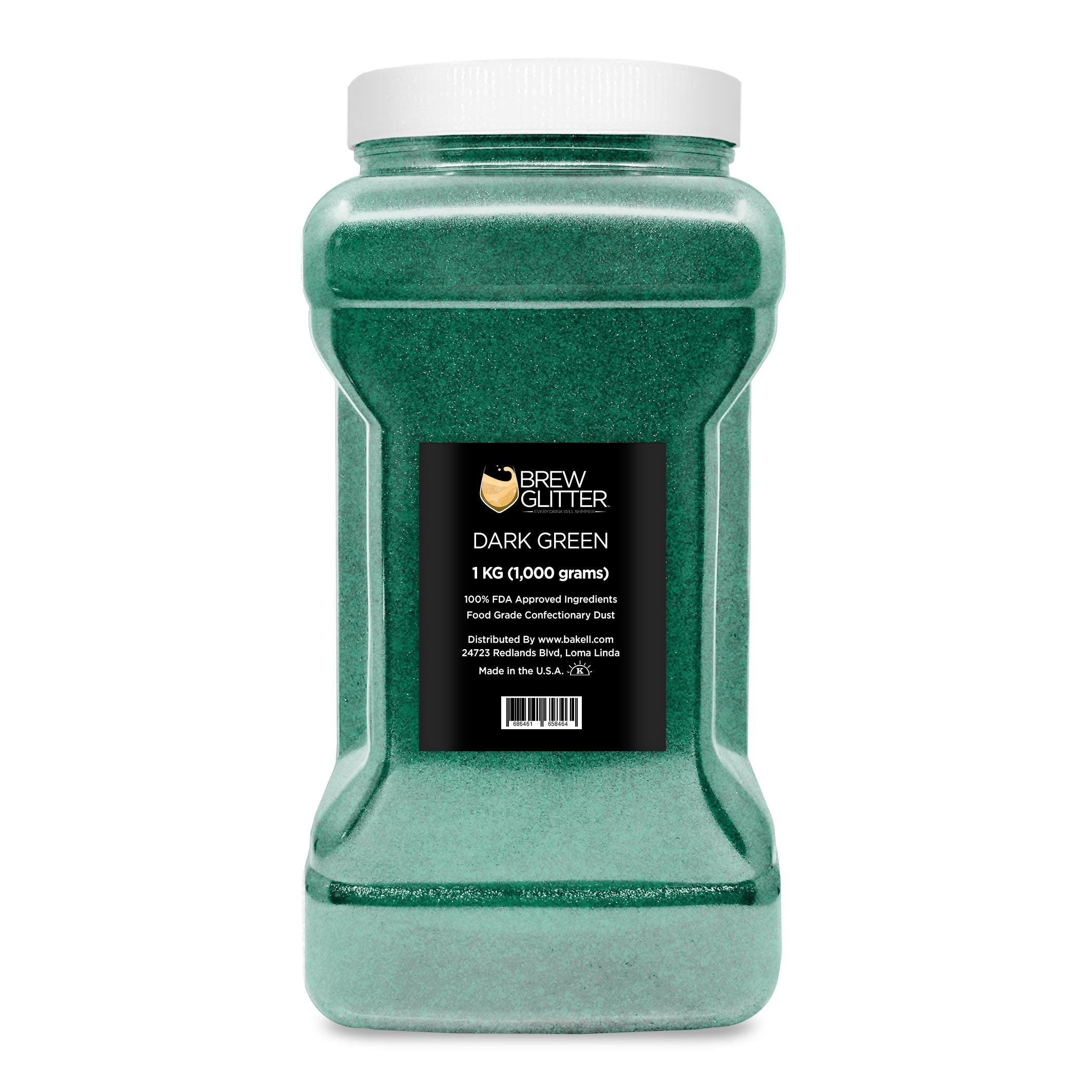 Dark Green Brew Glitter | Bulk Sizes