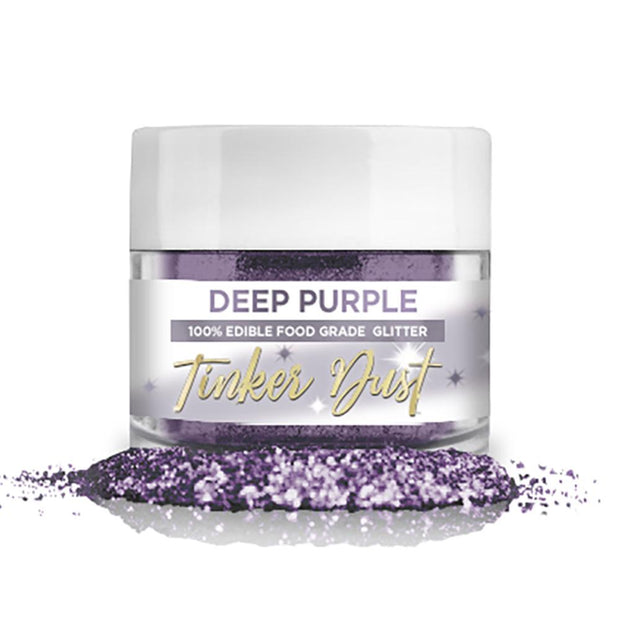 Deep Purple Edible Glitter Tinker Dust | 5 Gram Jar